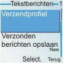 Nokia 6030 - SMS - handmatig instellen - Stap 6