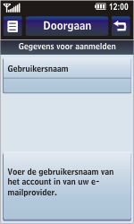 LG KM900 Arena - E-mail - Handmatig instellen - Stap 11