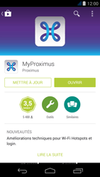 Acer Liquid Jade Z - Applications - MyProximus - Étape 8