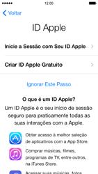 Apple iPhone iOS 7 - Primeiros passos - Como ativar seu aparelho - Etapa 15
