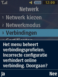 Samsung B2710 Xcover 271 - Internet - Handmatig instellen - Stap 6
