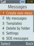 Samsung B2100 Xplorer - E-mail - Sending emails - Step 4