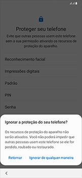 Samsung Galaxy A50 - Primeiros passos - Como ativar seu aparelho - Etapa 15