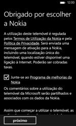 Nokia Lumia 625 - Primeiros passos - Como ligar o telemóvel pela primeira vez -  18