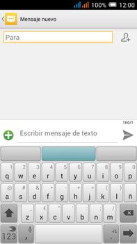 Alcatel Pop C9 - Mensajería - Escribir y enviar un mensaje multimedia - Paso 5