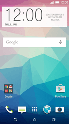 HTC Desire EYE - Internet - Example mobile sites - Step 1