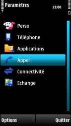 Nokia X6-00 - Messagerie vocale - configuration manuelle - Étape 5