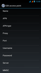 Wiko Stairway - Internet - Manual configuration - Step 14