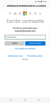 Samsung Galaxy S8 Plus - E-mail - Configurar Outlook.com - Paso 7