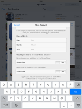 Apple iPad mini iOS 7 - Applications - Downloading applications - Step 15