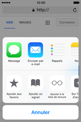 Apple iPhone 4 S iOS 9 - Internet - Navigation sur internet - Étape 5