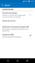 HTC One M9 - Mensajería - Configurar el equipo para mensajes de texto - Paso 8