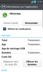 LG Optimus L5 II - Applications - Supprimer une application - Étape 6