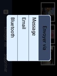 LG T580 - Photos, vidéos, musique - Envoyer une photo via Bluetooth - Étape 5