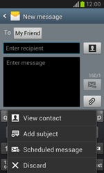 Samsung I8260 Galaxy Core - Mms - Sending a picture message - Step 9