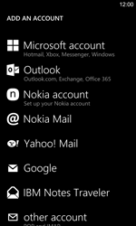 Nokia Lumia 925 - Email - manual configuration - Step 6