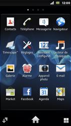 Sony ST25i Xperia U - E-mail - envoyer un e-mail - Étape 2