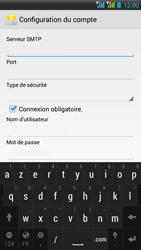 HTC Desire 516 - E-mail - Configuration manuelle - Étape 13