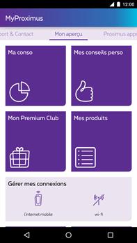 Motorola Nexus 6 - Applications - MyProximus - Étape 13