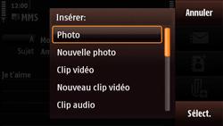Nokia N97 Mini - MMS - Envoi d