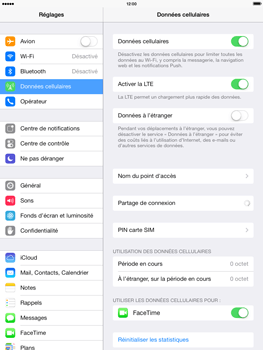 Apple iPad 4th generation iOS 7 - Internet - configuration manuelle - Étape 6
