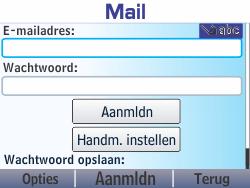 Nokia Asha 210 - E-mail - Handmatig instellen - Stap 6