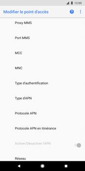 Google Pixel 2 XL - Internet - Configuration manuelle - Étape 12