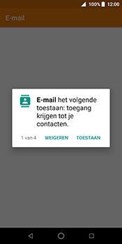 ZTE Blade V9 - E-mail - Handmatig instellen (outlook) - Stap 4