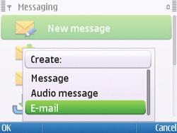 Nokia E5-00 - Email - Sending an email message - Step 5
