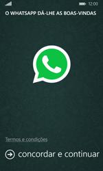 Microsoft Lumia 435 - Aplicações - Como configurar o WhatsApp -  5