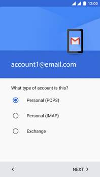OnePlus 3 - E-mail - Manual configuration POP3 with SMTP verification - Step 13