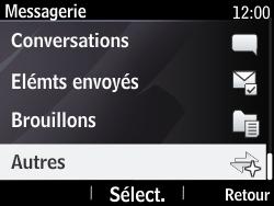 Nokia Asha 210 - SMS - Configuration manuelle - Étape 4