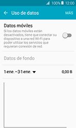 Samsung Galaxy J1 (2016) (J120) - Internet - Activar o desactivar la conexión de datos - Paso 6