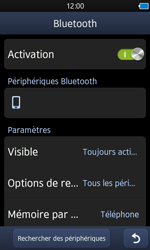 Samsung S8600 Wave 3 - Bluetooth - connexion Bluetooth - Étape 11