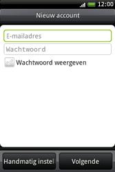 HTC A6262 Hero - E-mail - handmatig instellen - Stap 5