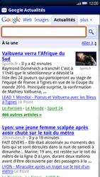 Sony Ericsson Xperia X10 - Internet - navigation sur Internet - Étape 9