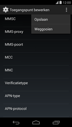 LG D821 Google Nexus 5 - Internet - handmatig instellen - Stap 15