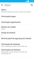 Asus Zenfone 2 - Primeiros passos - Como encontrar o número de IMEI do seu aparelho - Etapa 5