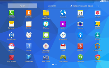 Samsung Galaxy Tab4 10.1 4G (SM-T535) - Contacten en data - Contacten overzetten via Bluetooth - Stap 3