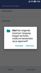 HTC 10 - Android Nougat - E-mail - handmatig instellen - Stap 17