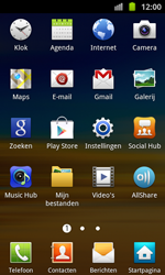 Samsung I8530 Galaxy Beam - E-mail - E-mails verzenden - Stap 3
