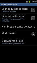 Samsung I8160 Galaxy Ace II - Internet - Configurar Internet - Paso 6