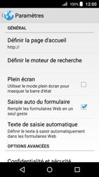 Acer Liquid Z320 - Internet - Configuration manuelle - Étape 23