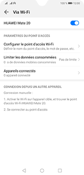 Huawei Mate 20 - Internet - comment configurer un point d'accès mobile - Étape 10