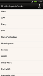 HTC S728e One X Plus - MMS - Configuration manuelle - Étape 8