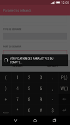 HTC Desire EYE - E-mail - Configuration manuelle - Étape 12
