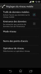 Sony C1905 Xperia M - Internet - configuration manuelle - Étape 9