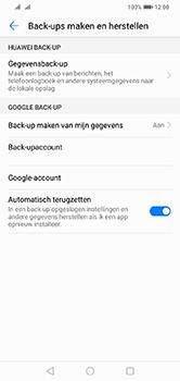Huawei Y7 (2019) - Data - maak een back-up met je account - Stap 8