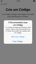 Apple iPhone 7 - iOS 12 - Primeiros passos - Como ativar seu aparelho - Etapa 14