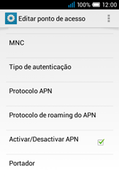 Alcatel POP C1 - MMS - Configurar MMS -  14